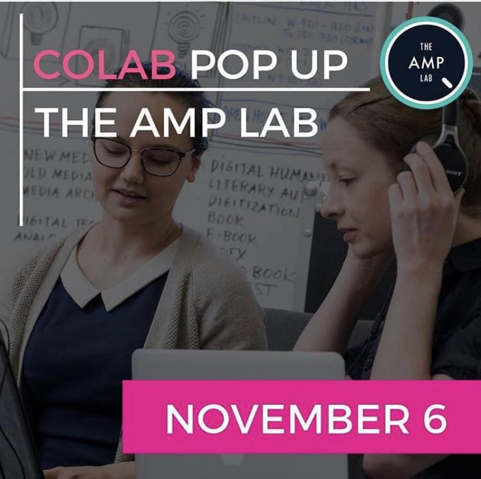 Colab Popup: The Amp Lab, Novemeber 6