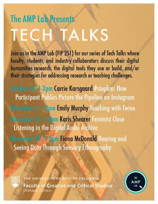 Tech Talk Poster