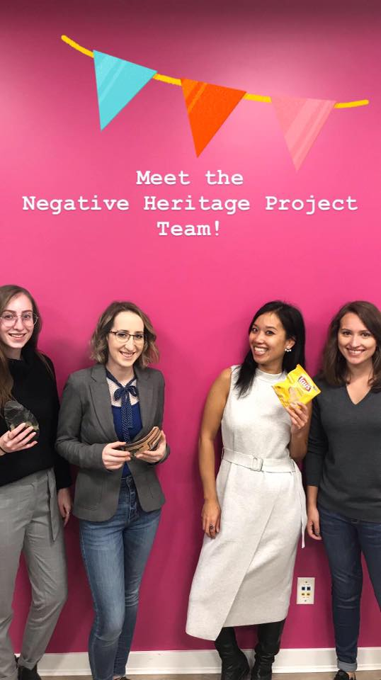 Meet the negative heritage team!